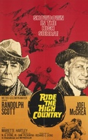 Ride the High Country movie poster (1962) picture MOV_07d686c3