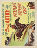 Texans Never Cry movie poster (1951) picture MOV_07e382f6