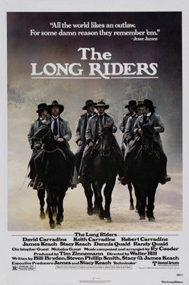 The Long Riders movie poster (1980) poster MOV_07e3fded