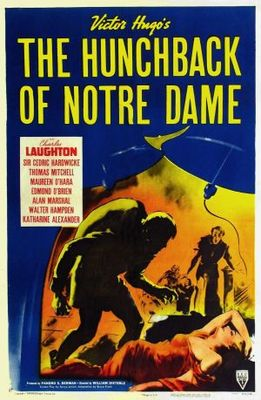 The Hunchback of Notre Dame movie poster (1939) poster MOV_07e53e64