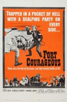 Fort Courageous movie poster (1965) picture MOV_07e690cf