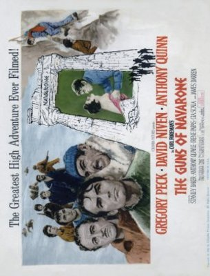 The Guns of Navarone movie poster (1961) poster MOV_07edc37c