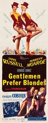 Gentlemen Prefer Blondes movie poster (1953) poster MOV_07f80791