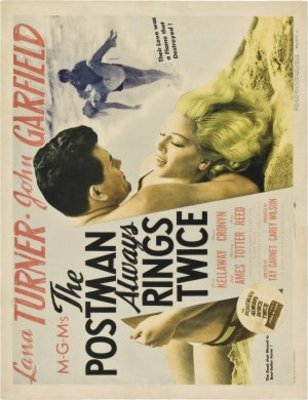 The Postman Always Rings Twice movie poster (1946) poster MOV_08024a8c