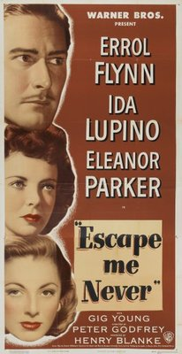 Escape Me Never movie poster (1947) poster MOV_0806bfac