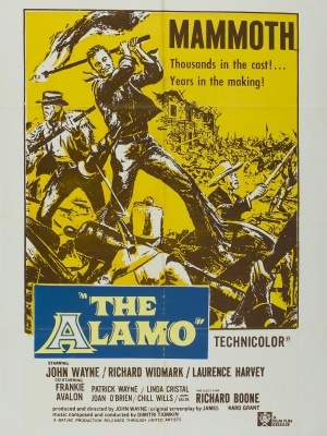 The Alamo movie poster (1960) poster MOV_08211775