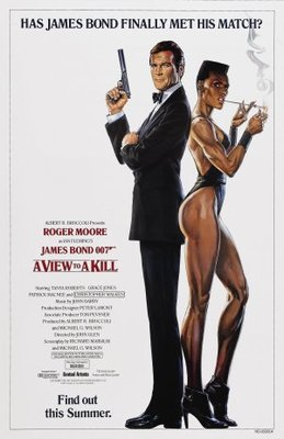 A View To A Kill movie poster (1985) poster MOV_083668df