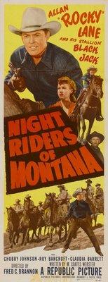 Night Riders of Montana movie poster (1951) poster MOV_0849111e