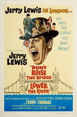Don't Raise the Bridge, Lower the River movie poster (1968) poster MOV_08651cab