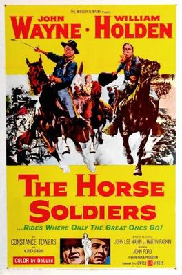 The Horse Soldiers movie poster (1959) poster MOV_0868e1d8