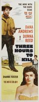 Three Hours to Kill movie poster (1954) picture MOV_0869b7e6