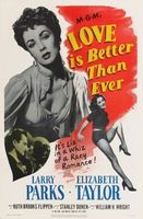 Love Is Better Than Ever movie poster (1952) picture MOV_086fe425