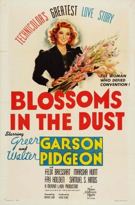 Blossoms in the Dust movie poster (1941) poster MOV_08714bed