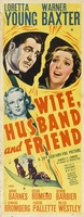 Wife, Husband and Friend movie poster (1939) picture MOV_088f086d