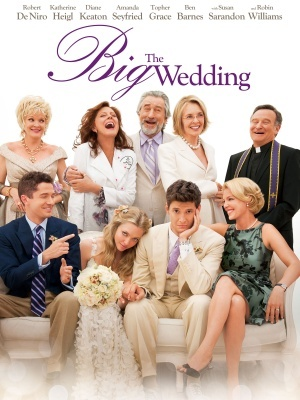 The Big Wedding movie poster (2012) poster MOV_08922c53