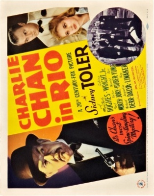 Charlie Chan in Rio movie poster (1941) poster MOV_0892e181