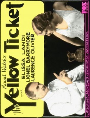 The Yellow Ticket movie poster (1931) poster MOV_089efdf3
