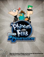 Phineas and Ferb: Across the Second Dimension movie poster (2011) picture MOV_089fd04f