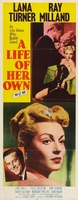A Life of Her Own movie poster (1950) picture MOV_08a3e1ac