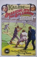Breaking Into the Big League movie poster (1913) picture MOV_08b1f845
