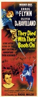 They Died with Their Boots On movie poster (1941) picture MOV_08b744a5
