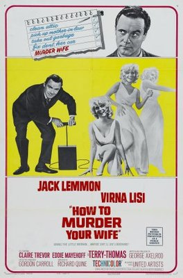 How to Murder Your Wife movie poster (1965) poster MOV_08e16f87