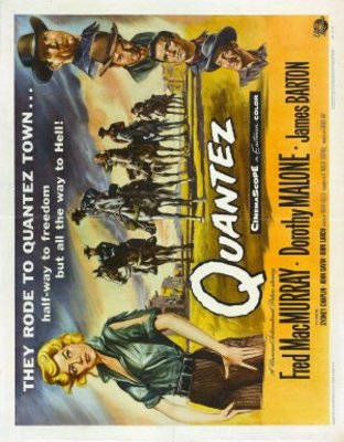 Quantez movie poster (1957) poster MOV_08eb2719