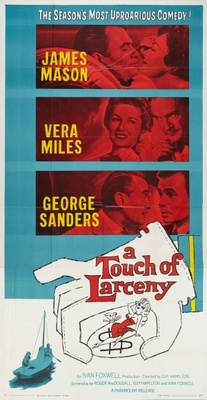 A Touch of Larceny movie poster (1959) poster MOV_08f593cc