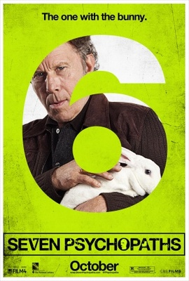 Seven Psychopaths movie poster (2012) poster MOV_08ffe4b1