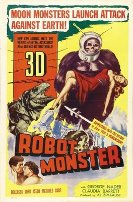 Robot Monster movie poster (1953) poster MOV_0925c108