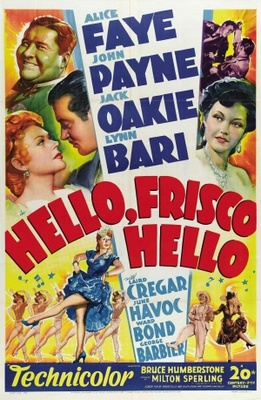 Hello Frisco, Hello movie poster (1943) poster MOV_09288d32