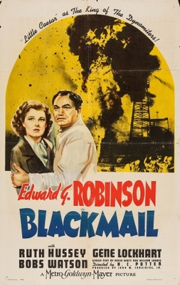 Blackmail movie poster (1939) poster MOV_09295d80