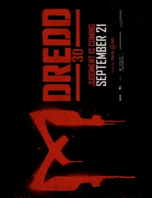 Dredd movie poster (2012) poster MOV_092bbc7e