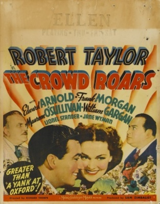 The Crowd Roars movie poster (1938) poster MOV_092ed4d5