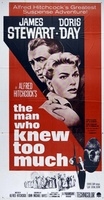 The Man Who Knew Too Much movie poster (1956) picture MOV_0945711c