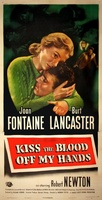 Kiss the Blood Off My Hands movie poster (1948) picture MOV_09537593