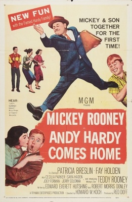 Andy Hardy Comes Home movie poster (1958) poster MOV_09567ed6