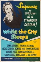 While the City Sleeps movie poster (1956) picture MOV_0959e597