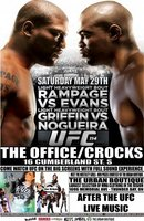UFC 114: Rampage vs. Evans movie poster (2010) picture MOV_095f7a3b