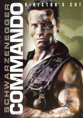 Commando movie poster (1985) poster MOV_096b01cf