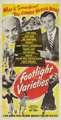 Footlight Varieties movie poster (1951) poster MOV_098f8596