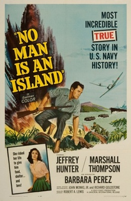 No Man Is an Island movie poster (1962) poster MOV_099b7853