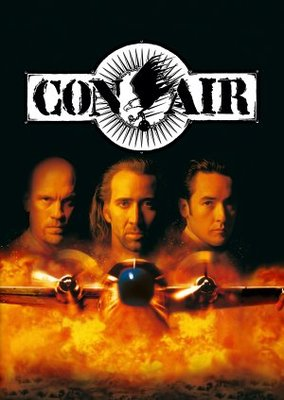 Con Air movie poster (1997) poster MOV_09ba5e5f
