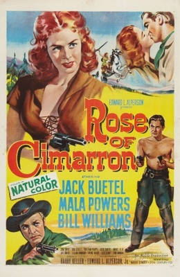 Rose of Cimarron movie poster (1952) poster MOV_09cc7ea7