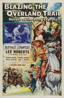 Blazing the Overland Trail movie poster (1956) poster MOV_09f04d00
