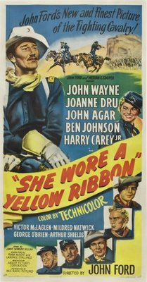 She Wore a Yellow Ribbon movie poster (1949) poster MOV_0a174ed7