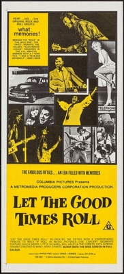 Let the Good Times Roll movie poster (1973) poster MOV_0a2d7c05