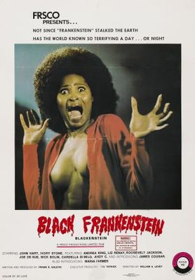 Blackenstein movie poster (1973) poster MOV_0a38e6a8