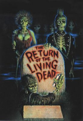 The Return of the Living Dead movie poster (1985) poster MOV_0a49fad1