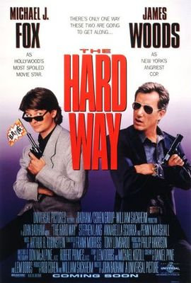 The Hard Way movie poster (1991) poster MOV_0a4d16e9